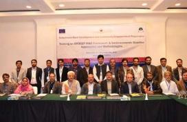 BRDCEP M&E and Socioeconomic Baseline A&M training - Quetta Nov 27 - Dec 1- 2017-01
