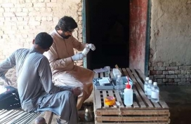 7-A-WASH-officer-tests-water-quality-of-communal-sources