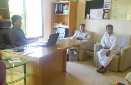 Turbat Visit-Debriefing meeting with NRSP-02