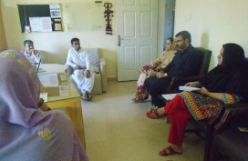 Turbat Visit-Debriefing meeting with NRSP-03