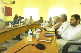 Turbat Visit-Meeting with NRSP-03