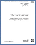 The Next Ascent - An Evaluation of the Aga Khan RSPs: 2002