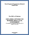The RSPs of Pakistan (2002)
