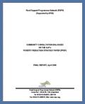 Community Consultation Dialogues (2006)
