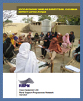 Socio Economic Baseline Survey - Choubara in Punjab: 2008