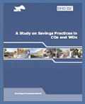 Saving Practices in COs and WOs (2010)