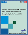 Assessing Strengths of LSOs for Public Accountability (2010)