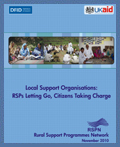 Local Support Organisations: Communities Taking Charge (2010)