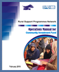 Manual for Community Investment Fund-English-2010