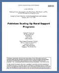Pakistan: Scaling Up Rural Support Programs: May 2004