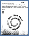 Partnering with NGOs to Strengthen Management: March 2006