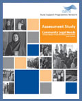 Assessment Study - Community Legal Needs