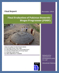 Final Evaluation of Pakistan domestic biogas program: November 2014