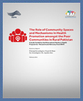 The Role of Community Spaces and Mechanisms in Health Promotion