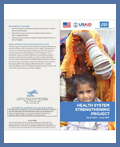 Brochure-Report on Health System Strengthening Project