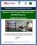 Report on the Inaugural Meeting of the Advisory Group on Public Procurements