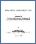 Guidelines for Formation & Management of LSO Networks