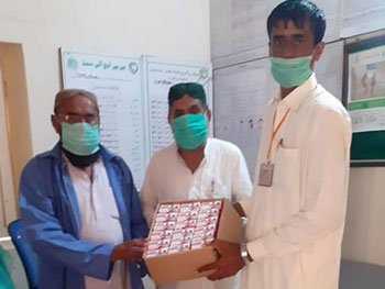 TRDP-distributes-Soap-in-Health-Facilities